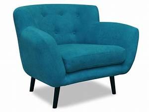 Fauteuil Crapaud Bleu Canard : fauteuil en tissu soria coloris bleu vente de tous les ~ Teatrodelosmanantiales.com Idées de Décoration