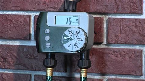 How To Program An Orbit 2 Outlet Hose Faucet Timer