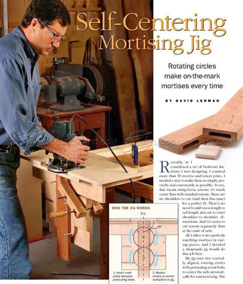 centering mortising jig joinery mortise jig