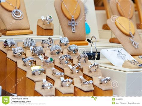 Jewelry Shop Stock Image  Image 22408021