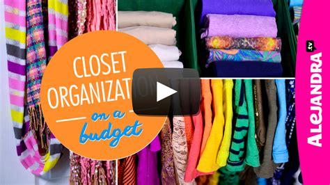 closet organization on a budget part 4 of 4