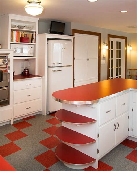 A retro inspired kitchen   New Hampshire Home   September