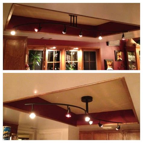 ideas  fluorescent kitchen lights  pinterest kitchen ceilings kitchen lighting