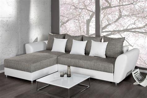 canape gris blanc conforama canapé d 39 angle blanc et gris conforama canapé idées de