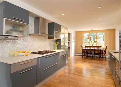 grey kitchens cabinets blue gray toned kitchen contemporary kitchen boston 1507