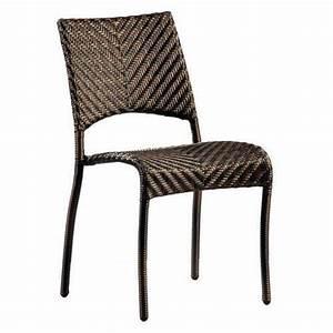 Chaise De Jardin Aluminium : chaise de jardin fiji empilable en viro et aluminium 90 ~ Teatrodelosmanantiales.com Idées de Décoration