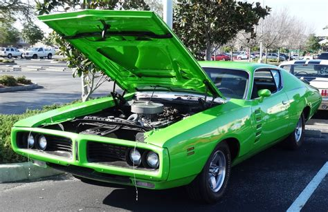 high impact colors  classic muscle cars