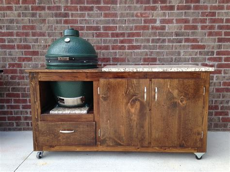 big green egg table plans with doors table plans with cabinet doors big green egg egghead