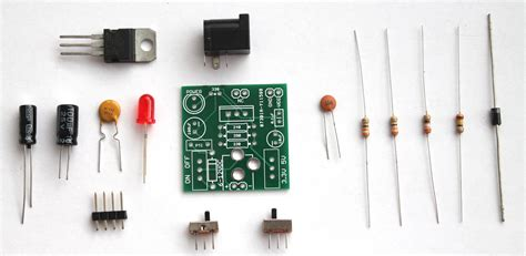 breadboard power supply components buildcircuit
