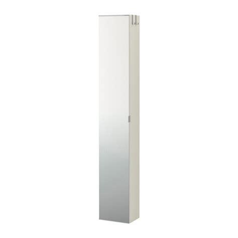 colonne de rangement chambre lillången armoire avec porte miroir blanc ikea