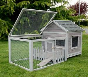 Cabane Pour Chat Exterieur Pas Cher : cage cochon d 39 inde bois 39 39 animals cottage 39 39 gris animaloo ~ Farleysfitness.com Idées de Décoration