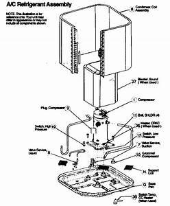 Icp Model H2a348gka100 Air Heat Pump Outside