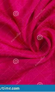Background Texture Of Pink Satin Fabric With Hearts. Love ...