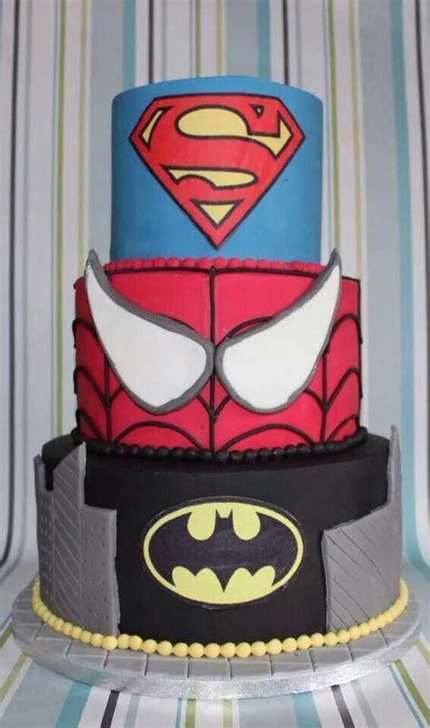 First time bakers will have a professional baked cake. Marvel cake | Cake makers, Marvel cake, Cake