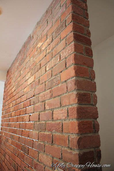turn  plain wall   brick wall faux brick walls