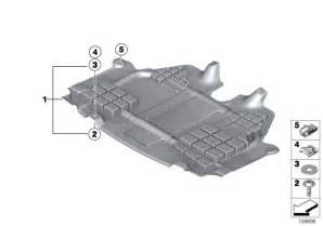 Mini Genuine Engine Underbody Shield Panel Underbonnet Screen Front 51712755054
