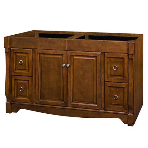 allen roth vanity cabinets shop allen roth caladium cherry traditional bathroom