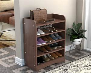 Shoe, Rack, For, A, Garage
