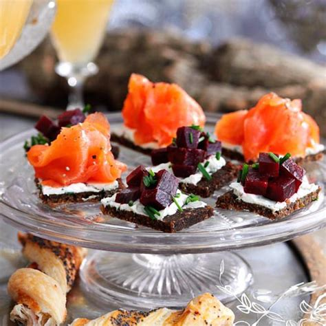 easy canape recipes uk food world recipes