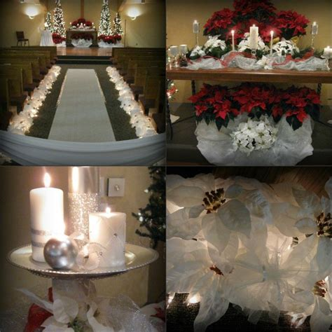 37 Best Christmas Church Wedding Decorations Images On