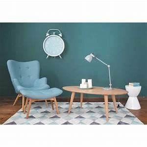 Canapé Vintage Maison Du Monde : fauteuil vintage bleu iceberg maisons du monde ~ Teatrodelosmanantiales.com Idées de Décoration