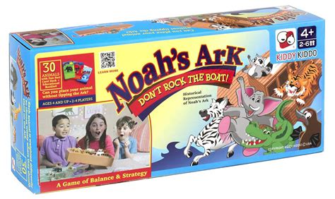 Don T Rock The Boat Game by Don T Rock The Boat Noah S Ark Tabletop Balancing Board