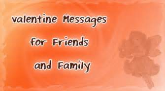 messages for friends and family