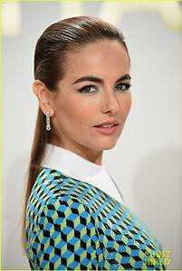 Camilla Belle Dresses Up for Michael Kors Fragrance Launch ...