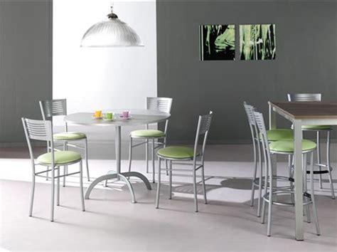 chaises de cuisine design chaise ronde cuisine