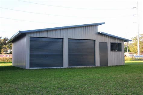 split level home plans skillion roof sheds and garages ranbuild