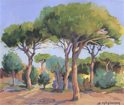 arbre en peinture on australian paintings and landscape