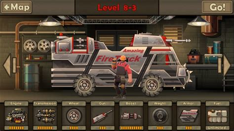 9th Car (fire Truck) Fully Upgraded