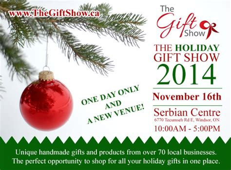 the holiday gift show 2014 windsor