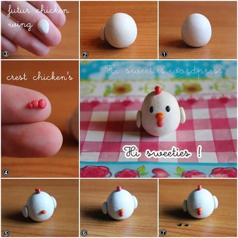 tuto pate fimo facile 2 fimo tutorial adopt a chicken hi sweeties