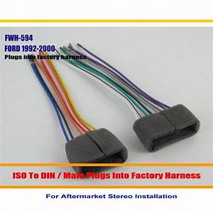 Car Radio Harness Cable Adapter For Ford Aerostar Aspire