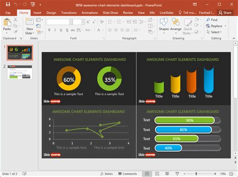 chart powerpoint templates