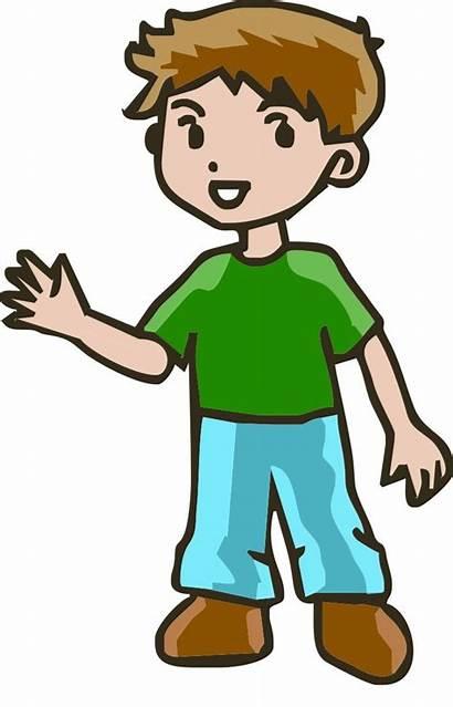 Clipart Person Cartoon Happy Clipartix Clip Boy