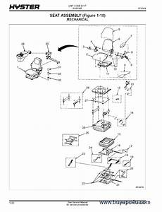 Hyster Challenger  E117  Forklift Pdf Parts Manual