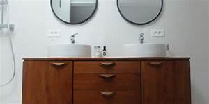 Diy Meuble Salle De Bain : diy transformer une enfilade en meuble vasque madame d core ~ Mglfilm.com Idées de Décoration