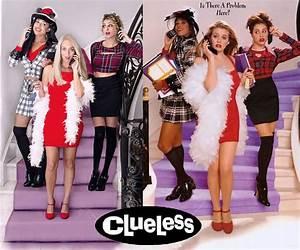 Clueless Halloween: A Group DIY Adult Costume Idea