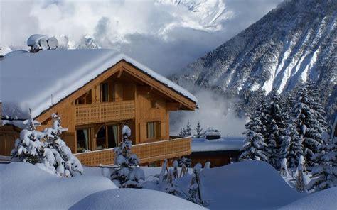 fond ecran chalet montagne fond d 233 cran chalet sous la neige