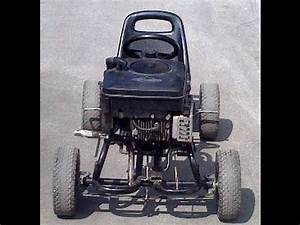 Karting A Moteur : kart avec moteur de tondeuse youtube ~ Maxctalentgroup.com Avis de Voitures