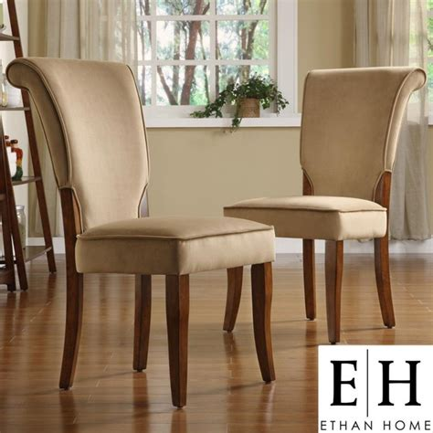 tribecca home dining room chairs andorra peat velvet upholstered dining chair by tribecca