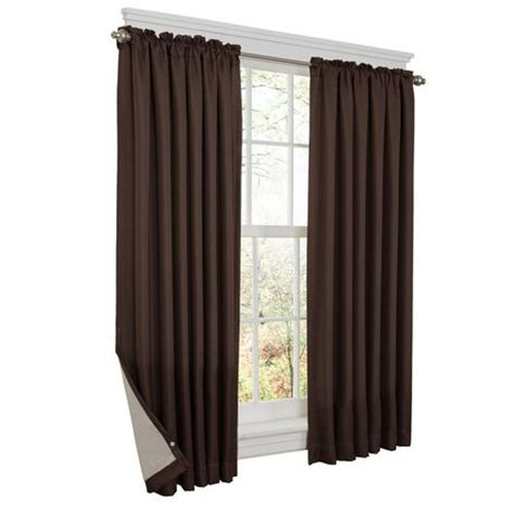 Curtains At Walmartca thermal shield energy saving curtain walmart ca