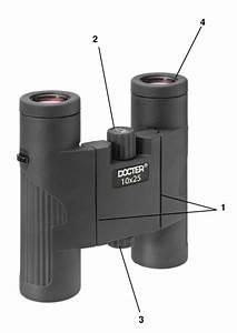Docter Compact Series Binoculars Instruction Manual