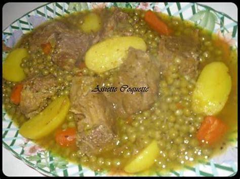 recette de veau petits pois carottes pomme de terre