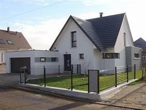 Garage En Bois Toit Plat : extension garage toit plat ~ Dailycaller-alerts.com Idées de Décoration