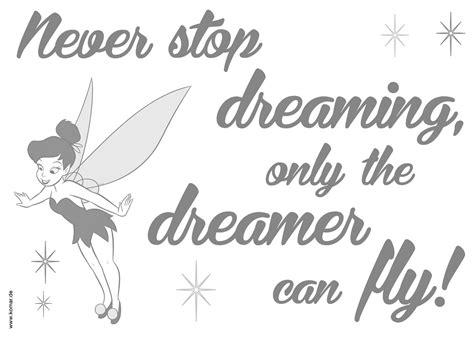 wandsticker  stop dreaming von komar disney