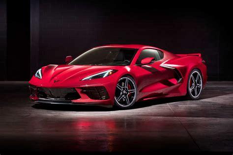 mid engined chevrolet corvette  revealed