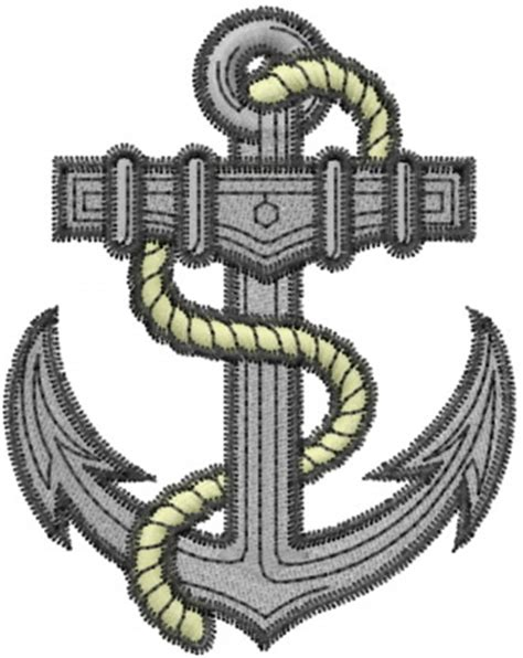 Boat Anchor Designs by Boat Anchor Embroidery Designs Machine Embroidery Designs